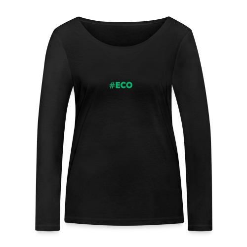 #ECO Blue-Green - Frauen Bio-Langarmshirt von Stanley & Stella