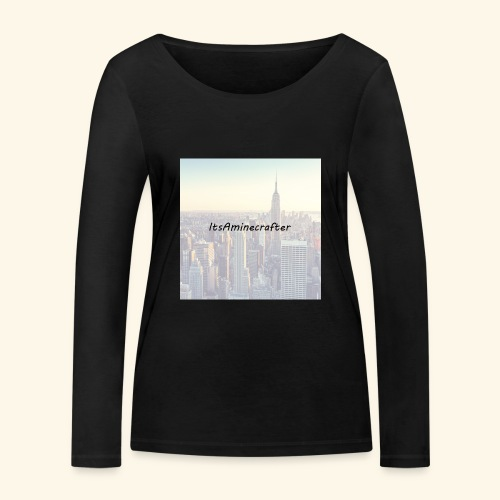 ItsAminecrafter - Vrouwen bio shirt met lange mouwen van Stanley & Stella