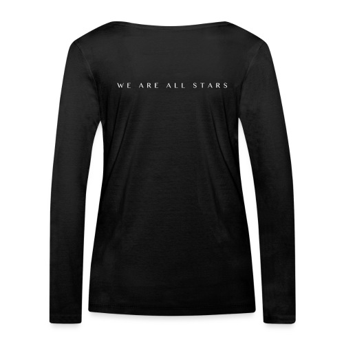 Galaxy Music Lab - We are all stars - Økologisk Stanley & Stella langærmet T-shirt til damer