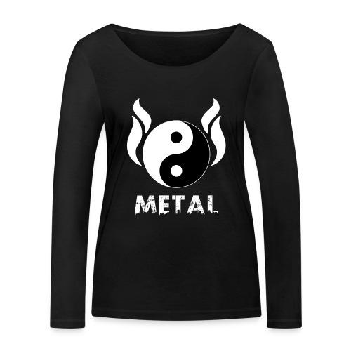 YIN YANG METAL - Frauen Bio-Langarmshirt von Stanley & Stella