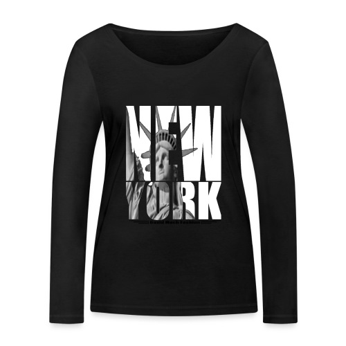 New York - T-shirt manches longues bio Stanley & Stella Femme