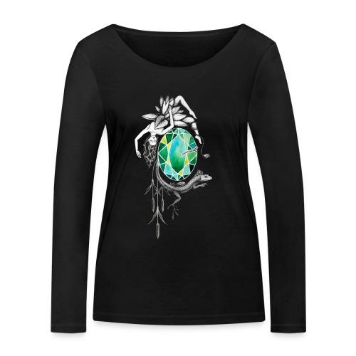 Emerald - Frauen Bio-Langarmshirt von Stanley & Stella