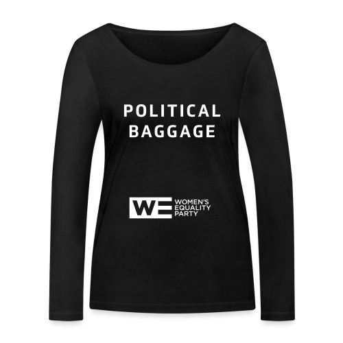 Political Baggage - Women's Organic Longsleeve Shirt by Stanley & Stella