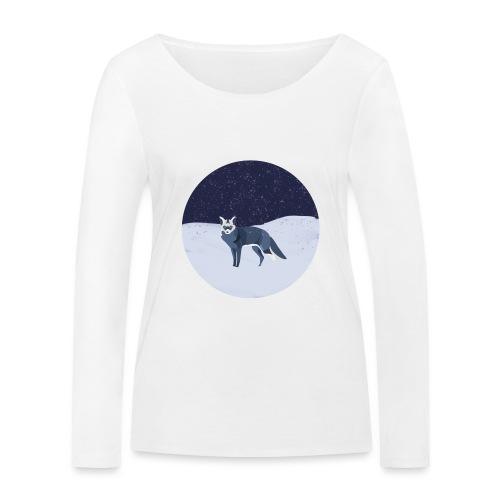 Blue fox - Stanley & Stellan naisten pitkähihainen luomupaita