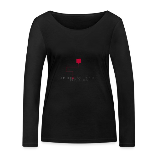 blood - Ekologisk långärmad T-shirt dam från Stanley & Stella