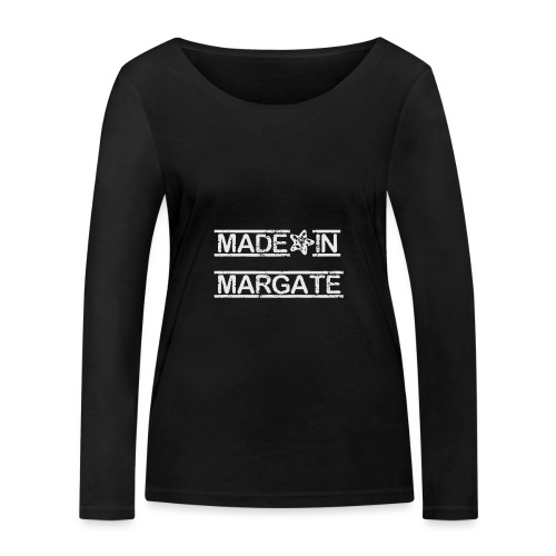 Made in Margate - White - Women's Organic Longsleeve Shirt by Stanley & Stella