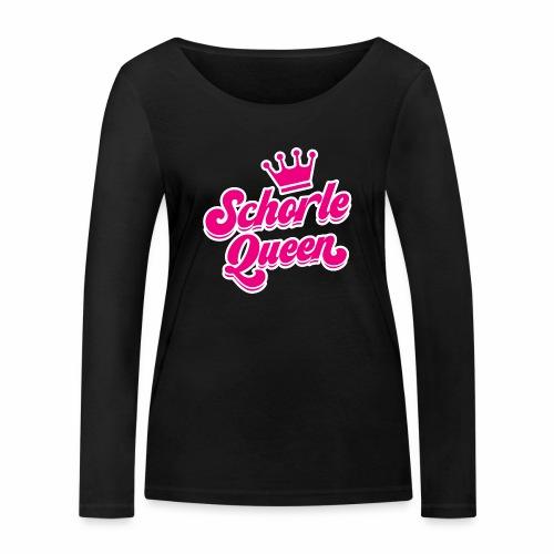 Schorle Queen - Frauen Bio-Langarmshirt von Stanley & Stella