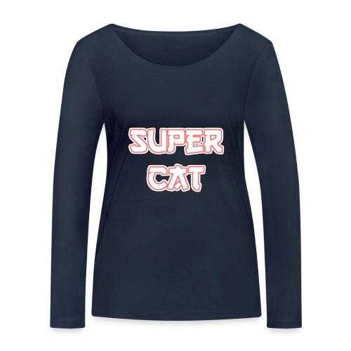 Super Cat - Frauen Bio-Langarmshirt von Stanley & Stella