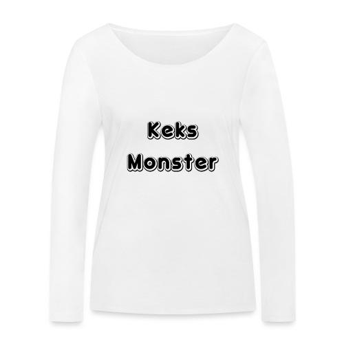 Keks Monster - Frauen Bio-Langarmshirt von Stanley & Stella