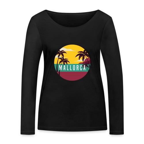 Mallorca - Frauen Bio-Langarmshirt von Stanley & Stella
