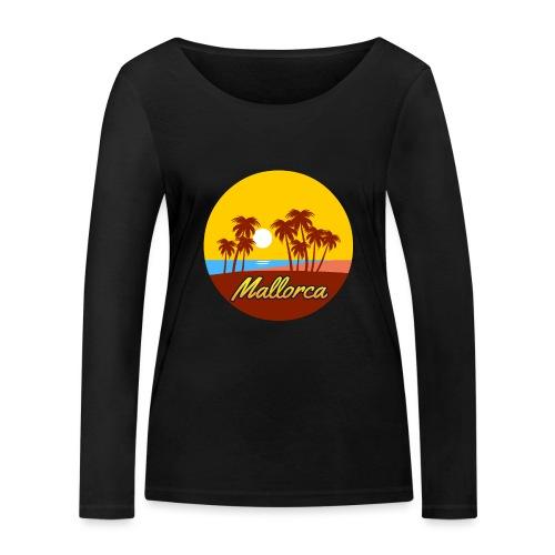 Mallorca - Als Geschenk oder Geschenkidee - Frauen Bio-Langarmshirt von Stanley & Stella