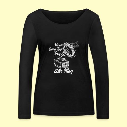Lindy Hop Day Swing Dancing Vintage Geschenk - Frauen Bio-Langarmshirt von Stanley & Stella