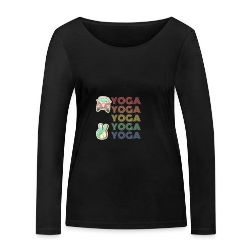YOGA HIPPIE - Camiseta de manga larga ecológica mujer de Stanley & Stella