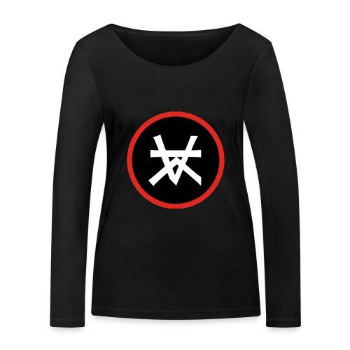 Kairos Logo Red&Round - Vrouwen bio shirt met lange mouwen van Stanley & Stella