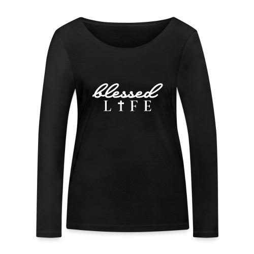 Blessed Life - Jesus Christlich - Frauen Bio-Langarmshirt von Stanley & Stella