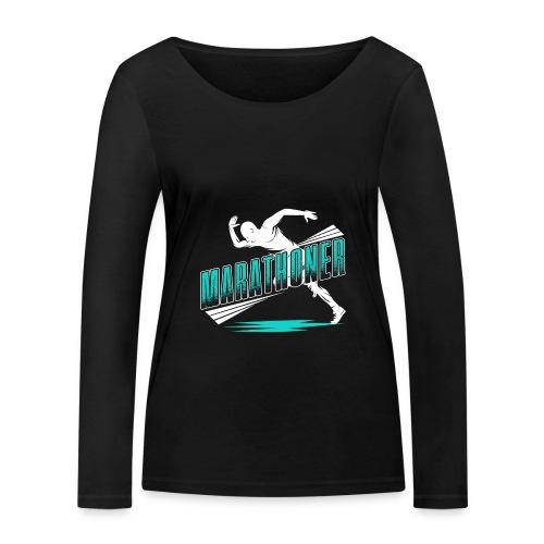 Marathoner - Frauen Bio-Langarmshirt von Stanley & Stella