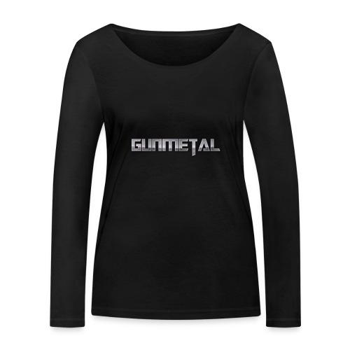 Gunmetal - Women's Organic Longsleeve Shirt by Stanley & Stella