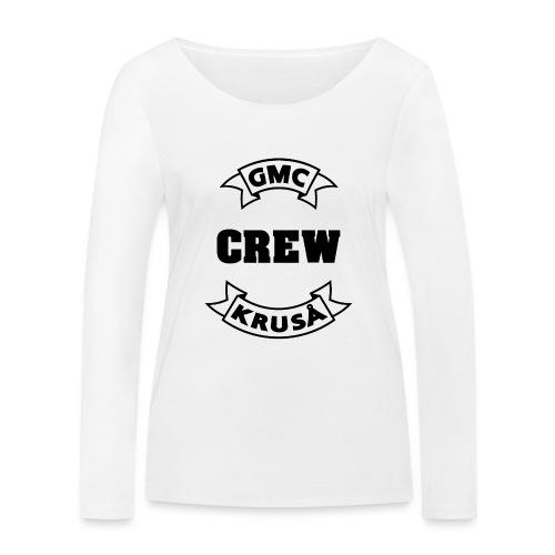 GMC CREWSHIRT - KUN FOR / CREW MEMBERS ONLY - Økologisk Stanley & Stella langærmet T-shirt til damer