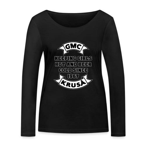 GMC HOLDING GIRLS HOT - Økologisk Stanley & Stella langærmet T-shirt til damer