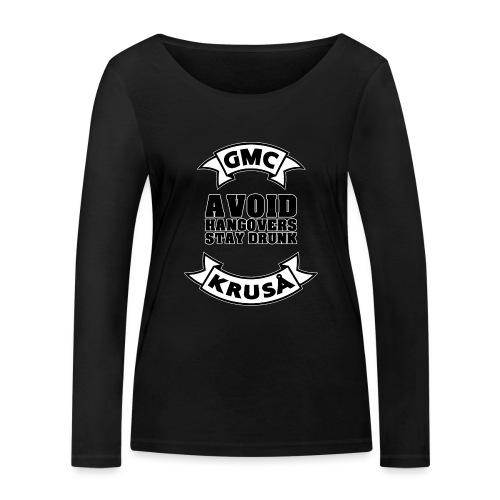 GMC AVOIDE HANGOVERS - STAY DRUNK - Økologisk Stanley & Stella langærmet T-shirt til damer