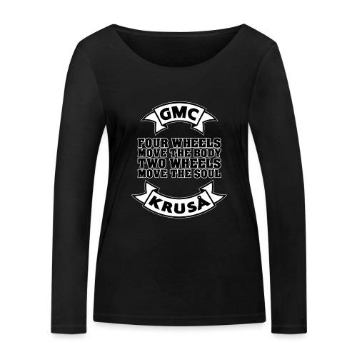 GMC FOUR WHEELS - Økologisk Stanley & Stella langærmet T-shirt til damer
