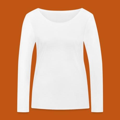 Skater / Skateboarder 03_weiß - Frauen Bio-Langarmshirt von Stanley & Stella