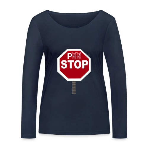 Pee Stop for Concert Goers! - Women's Organic Longsleeve Shirt by Stanley & Stella