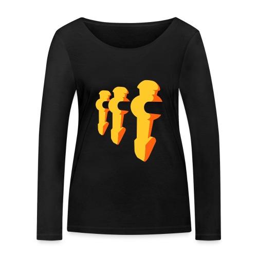 Kickerfiguren - Kickershirt - Frauen Bio-Langarmshirt von Stanley & Stella