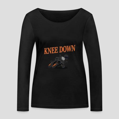 Knee Down - Motorrad | Biker - Frauen Bio-Langarmshirt von Stanley & Stella