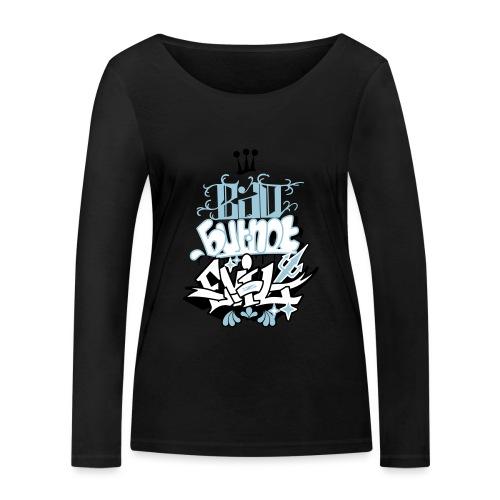 Bad but not evil - T-shirt manches longues bio Stanley & Stella Femme