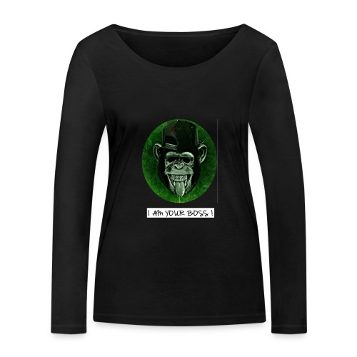 I AM YOUR BOSS ! - Maglietta a manica lunga ecologica da donna di Stanley & Stella