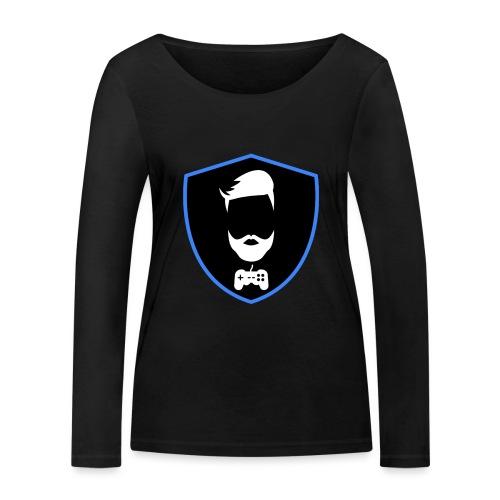 Kalzifertv-logo - Økologisk Stanley & Stella langærmet T-shirt til damer
