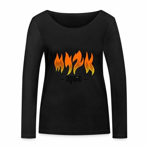 MY2K Squad Feu - T-shirt manches longues bio Stanley & Stella Femme