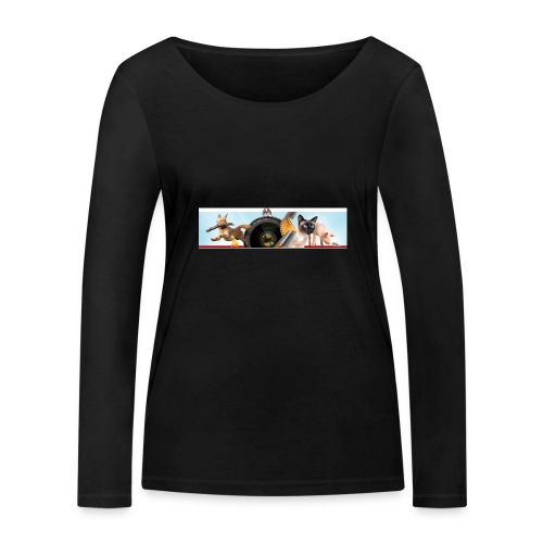 Animaux logo - Vrouwen bio shirt met lange mouwen van Stanley & Stella