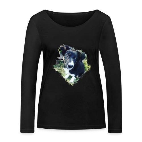 colliegermanshepherdpup - Women's Organic Longsleeve Shirt by Stanley & Stella