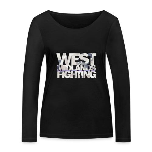 WMF low poly light - Women's Organic Longsleeve Shirt by Stanley & Stella
