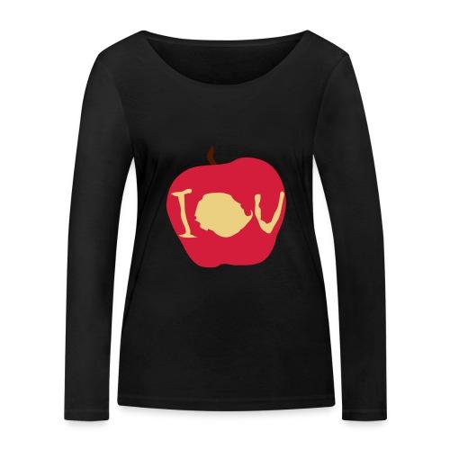 IOU (Sherlock) - Women's Organic Longsleeve Shirt by Stanley & Stella