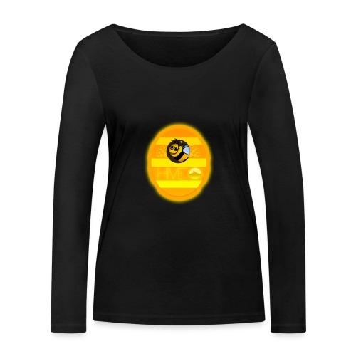 Herre T-Shirt - Med logo - Økologisk Stanley & Stella langærmet T-shirt til damer