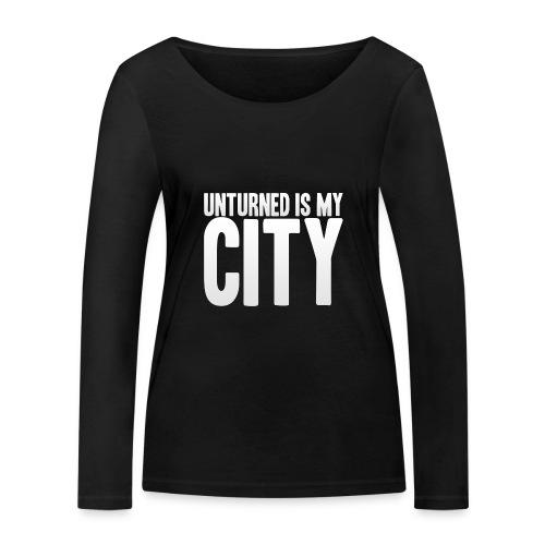 Unturned is my city - Women's Organic Longsleeve Shirt by Stanley & Stella