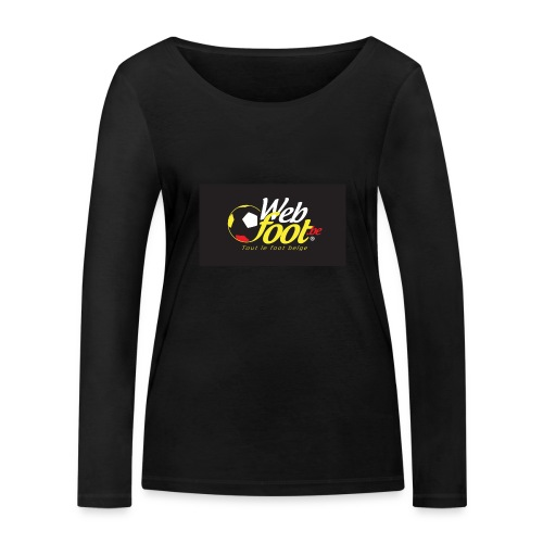 webfoot.be - T-shirt manches longues bio Stanley & Stella Femme