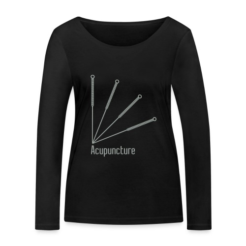 Acupuncture Eventail vect - T-shirt manches longues bio Stanley & Stella Femme