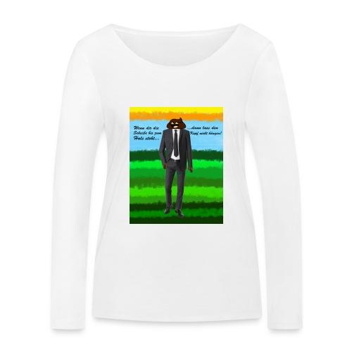 scheiß design - Frauen Bio-Langarmshirt von Stanley & Stella