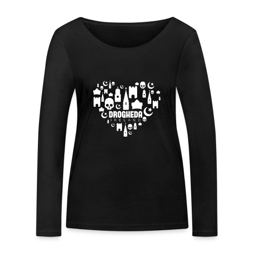 Drogheda Black - Women's Organic Longsleeve Shirt by Stanley & Stella