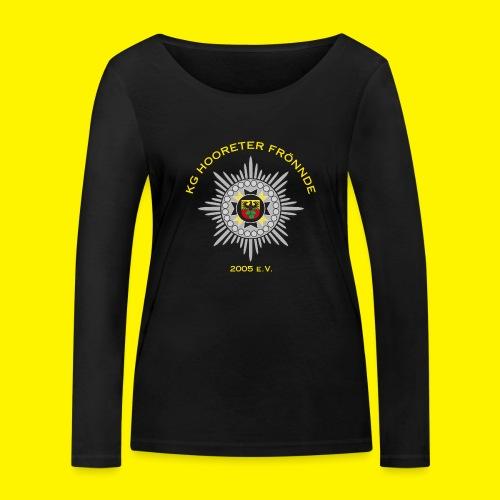 Gelbe Schrift - Frauen Bio-Langarmshirt von Stanley & Stella