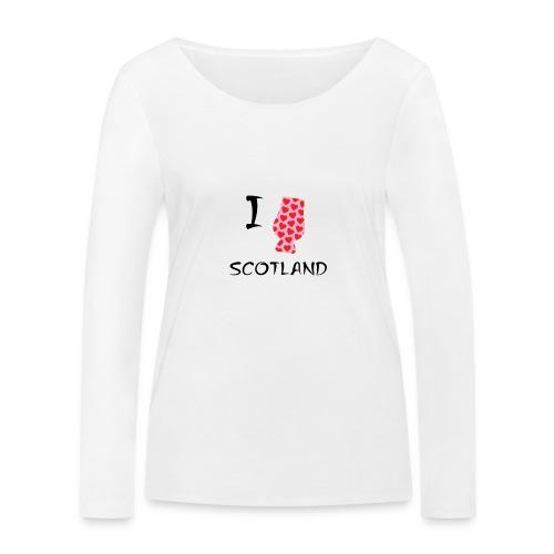 I Love Scotland - Glencairn - Women's Organic Longsleeve Shirt by Stanley & Stella