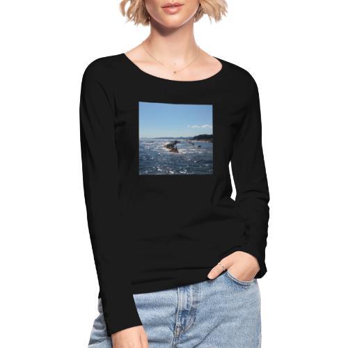 Mer avec roches - T-shirt manches longues bio Stanley & Stella Femme