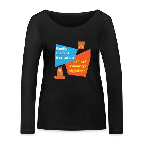 Duna Família - Økologisk langermet T-skjorte for kvinner fra Stanley & Stella