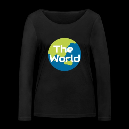 The World Earth - Økologisk Stanley & Stella langærmet T-shirt til damer
