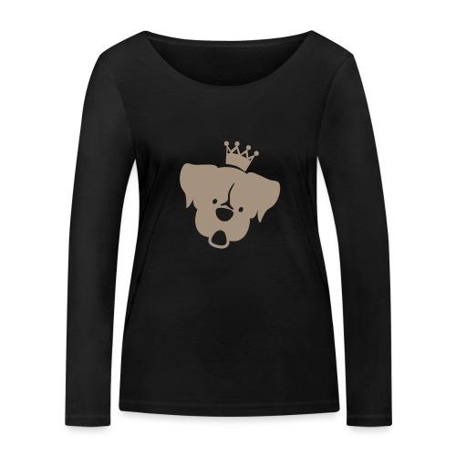 Prinz Poldi braun - Frauen Bio-Langarmshirt von Stanley & Stella