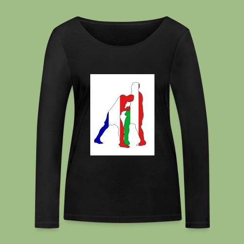 Zidane and Materazzi - Ekologisk långärmad T-shirt dam från Stanley & Stella